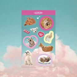 쏘슬러시 콜라주 스티커 -cute animals