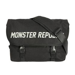 MONSTER SCOTCH MESSENGER BAG / BLACK(ITEMN7ANHIZ)