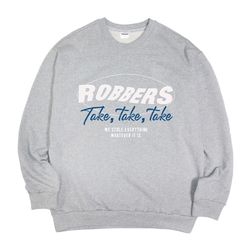 Take Take Take Gray sweatshirt(ITEMFHMO5ZE)