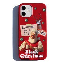 Black Christmas iPhone case(ITEMZ7BNZJ6)