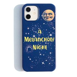 A Melancholy Night iPhone case(ITEM9VHHCL8)
