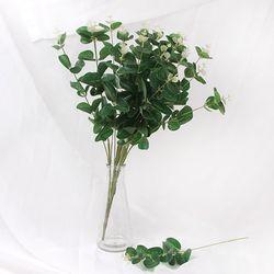 유칼립투스 조화 인테리어 인조 나뭇가지 한다발