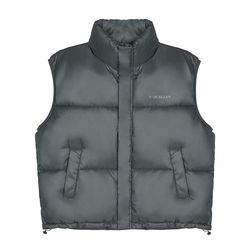Minimal Puffer Padding Vest_Charcoal(ITEMT7E1ROW)
