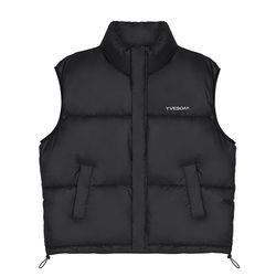 Minimal Puffer Padding Vest_Black(ITEM1IHEJ5T)