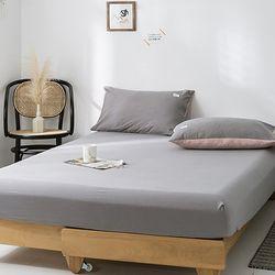 단색 침대 매트리스 토퍼 밴딩커버