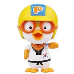 뽀롱뽀롱 뽀로로 리얼 피규어 국가대표 뽀로로태권도 장난감