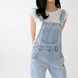 N Light Denim Awesome Overalls