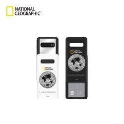 내셔널지오그래픽 갤럭시S9+ 메탈 데코 아이슬라이드 케이스