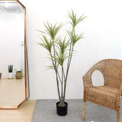 고급 인조나무 조화화분 드라세나 마지나타 160cm