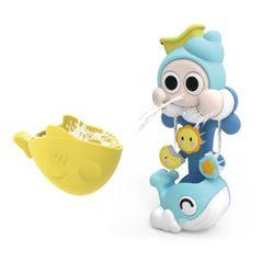 퀵스마트 소라게 고래 목욕놀이 장난감