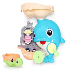 퀵스마트 돌고래 목욕놀이 장난감