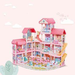 퀵스마트 페어리 캐슬빌라 인형의집 공주성 하우스
