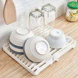 접시 정리대 물빠짐 식기건조대 폴딩 플레이트건조대