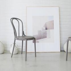 모아이 아벨로 디자인 곡목의자 2EA