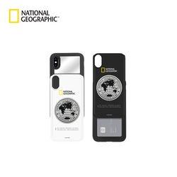 내셔널지오그래픽 아이폰7+ 메탈 데코 아이슬라이드 케이스