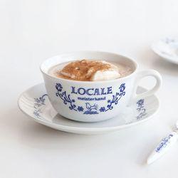 마메종 블루로즈 커피잔 290ml