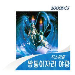 [비앤비퍼즐] 1000PCS 직소 쌍둥이자리 03-605 야광