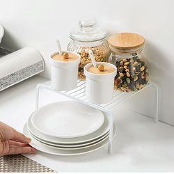 숏타입 구름다리 싱크대 하부장정리 주방선반 접시 그릇 정리대