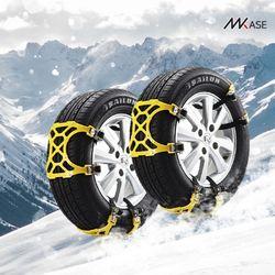 메이스 스노우체인 타이어 우레탄 케이블타이 체인 스파이더