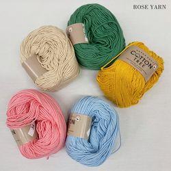 코튼트리 -Cotton Tree 면사 뜨개실