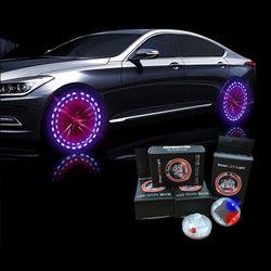 메이스 타이어 LED 밸브캡 타이어마개 자동차