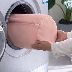 속옷 베개 아기옷 세탁망 빨래망 핑크 클린세탁망5종