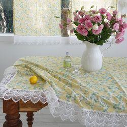 제니로즈 프렌치레이스 2인 4인 6인 테이블보 식탁보 3colors