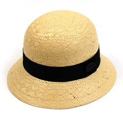 BK Modern Summer Raffia Cloche Hat 여름페도라
