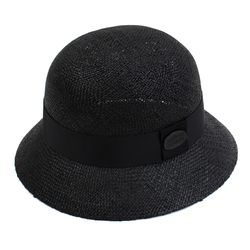 BK Thunder Bau Black Cloche Hat 여름페도라