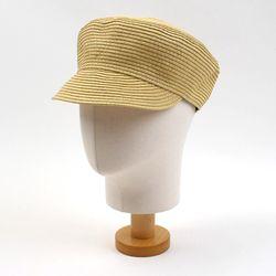 Summer Paper Beige Marine Cap 여름모자
