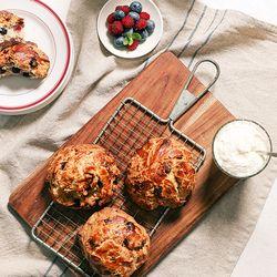 시루아네 메밀베리 스콘 ( 120g 5개입)