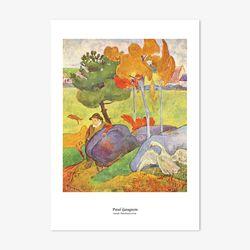 폴 명화 인테리어 아트 포스터 9종 (5X7 사이즈)