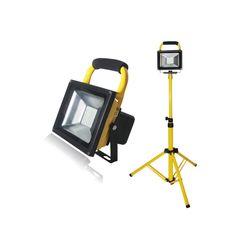 LED 충전용 투광기(50W) 삼각대(1등용)SET