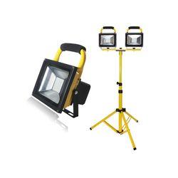 LED 충전용 투광기(10W20W) 삼각대(2등용)SET