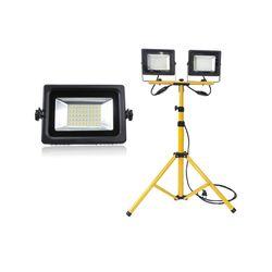 LED 투광기(10W20W30W) 삼각대 (2등용) SET