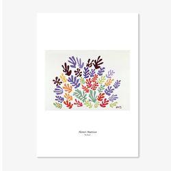 앙리 마티스 명화 인테리어 아트 포스터 6종 (5X7 사이즈)