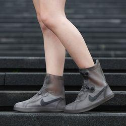 실리콘 신발방수커버 레인부츠 레인슈즈 (블랙색상)