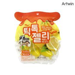 3000 틱톡 젤리 레몬 바나나 160g (1봉-4EA)