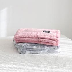 플러피 극세사 아기 블랭킷 신생아 담요 100 x 150