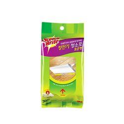 정전기 청소포 표준형 30매 청소포리필 마른청소포