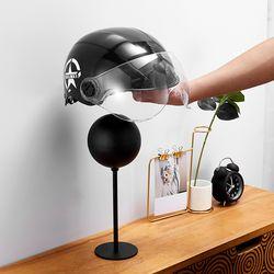 PH 알루미늄 자전거 헬멧거치대 모자걸이 스탠드형 olov