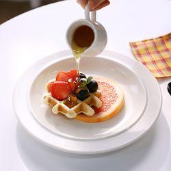 소린 접시(대) 메인접시 크림 단품