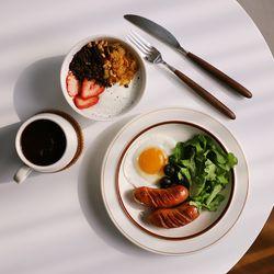 소린 접시(대) 메인접시 브라운 단품