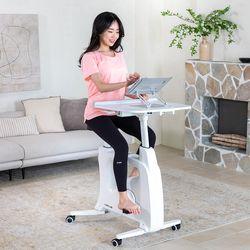 루나랩 슬림바이크 홈트레이닝 다이어트 실내 자전거 테이블형