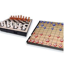 명인 체스 장기 소형 자석 양면 휴대용 M 159