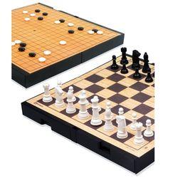 명인 바둑 체스 중형 자석 양면 휴대용 M 250