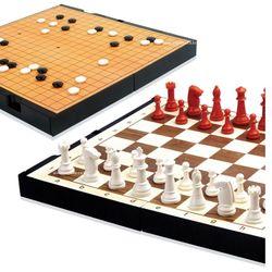 명인 바둑 체스 소형 자석양면 서랍내장 휴대용 M 150