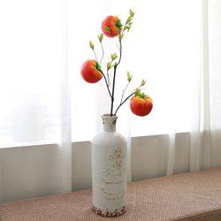 인테리어 모조과일 소품 장식 토마토 조화가지 68cm