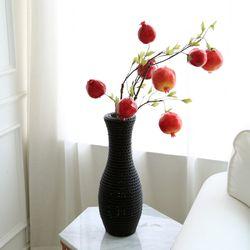 인테리어 모조과일 소품 석류 조화가지 68cm 2size