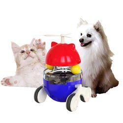 고양이 강아지 장난감 간식 오뚝이 펫메이트 리오